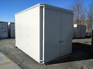 Secure Steel Shed - 12'x8'x8' nominal internal dimensions