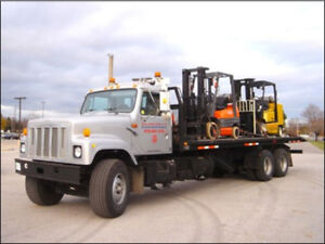 2000 International 29' Roll Off Flatbed 20S – Low KM