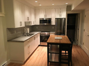 Brand new furnished studio suite in the Commercial Drive area