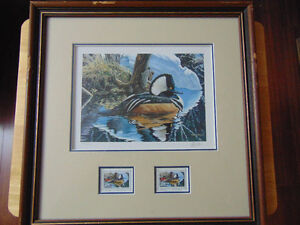 1994 Wildlife Habitat Canada-s/n Print,Alan Sakhavarz with Stamp