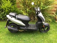 2011 Kymco Agility 50cc Scooter, Moped, Ped, Feb 2017 MoT