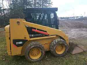 2011 Cat 216b skid steer