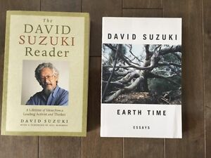 DAVID SUZUKI books for sale..