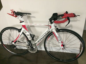 Triathlon bike --- Cannondale Slice 5 105