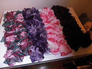 COLORFUL SCARVES   12.00 each