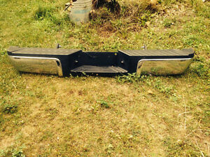 New ford rear bumpers.  From superduty $200