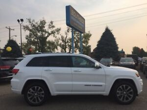 2017 Jeep Grand Cherokee Overland  TECH,TOW,PARALLEL PARK ASSIST