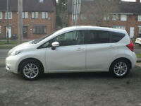 2014 Nissan Note 1.2 ( 80ps ) Style Pack Acenta Premium 5DR 14 REG Petrol White