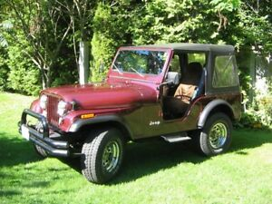 1981 Jeep CJ5 49,667 KMS Two Owner Jeep