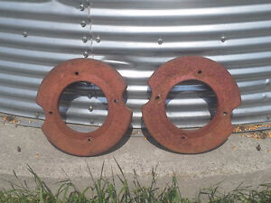 International Front wheel weights