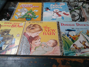 5 Little Golden Books