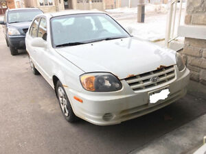 2006 Hyundai Accent Hatchback, accident free, good condition