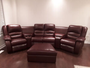 Sofa Entertainment Set
