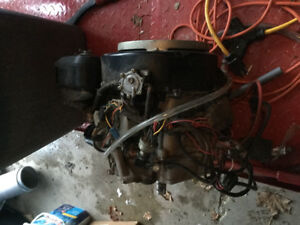 Riding mower motor