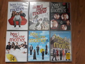 How I met your mother Saisons 1 à 6