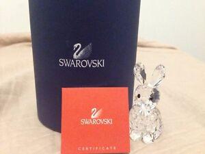 Authentic Swarovski Crystal Rabbit