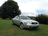 Audi A6 2.5 TDI V6 automatic 2003 6 speed gearbox full service history