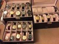 Rolex Omega and other watch Collections Bought