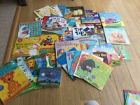 Selection of children's books for those aged 2-4