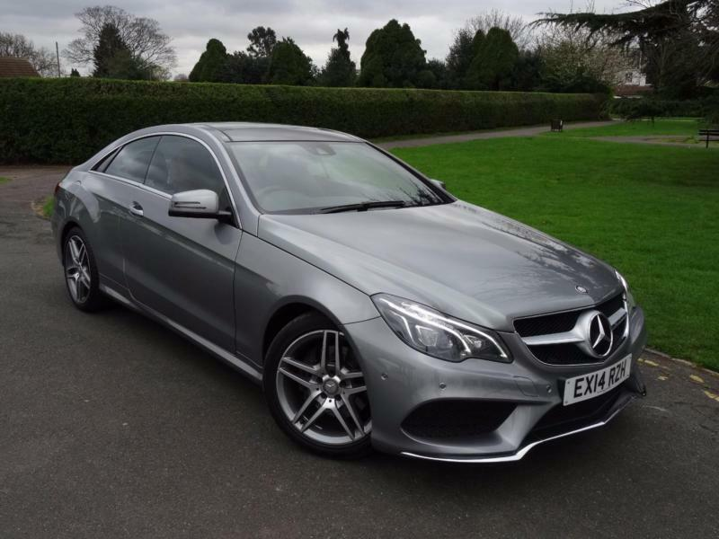 mercedes e class e220 cdi amg sport coupe 2014 14 in redbridge london gumtree. Black Bedroom Furniture Sets. Home Design Ideas