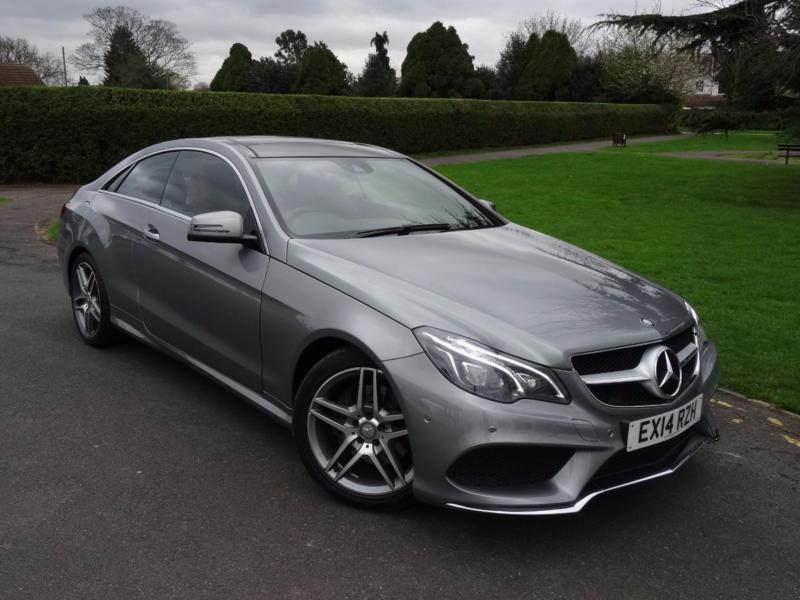 Mercedes e class e220 cdi amg sport coupe 2014 14 in redbridge london gumtree - Mercedes e class coupe 2014 ...