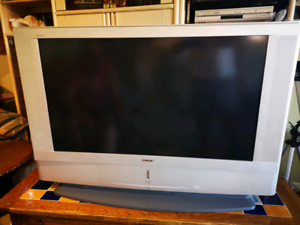 "Sony 42"" lcd projection TV. Great for cottage or basement."