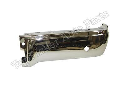 FOR 2009 14 FORD F150 STYLESIDE REAR BUMPER END CHROME WITH SENSOR HOLES RH NEW