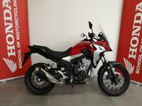 Honda CB500X Red 2020
