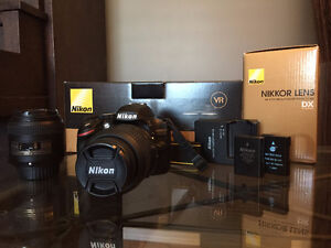 D3200 with 18-55mm Kit Lens and 40mm f/2.8 Micro Lens