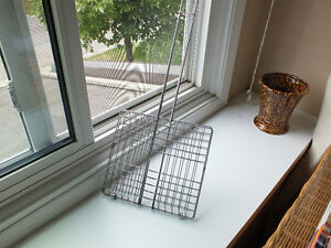 STAINLESS STEEL GRILL BASKET FOR OPEN FIRE,..GRILLS etc.,.. Kitchener / Waterloo Kitchener Area image 1