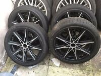 Bmw Mini Vauxhall Skoda Honda Mini 4 Stud Multi-Fitment Alloy Wheels