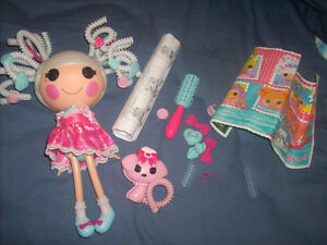 Lalaloopsy Silly hair with accessories. Mint. Special edition