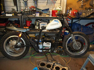 looking for parts for 2 flat track bikes i'm building