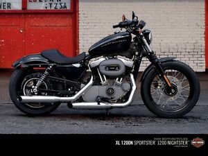 2010 Harley Davidson Nightster pipes & air cleaner