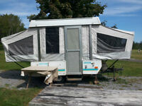 1996 Coachman pop-up tent trailer