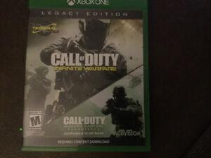 75$ call of duty infinite warfare and modern warfare remastered