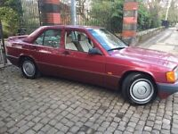 MERCEDES BENZ 190E AUTOMATIC GREAT INVESTMENT FUTURE CLASSIC