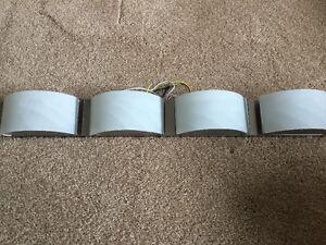 4 Light LED Satin Nickel Bathbar