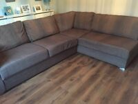 7 seater corner sofa that comes apart for moving