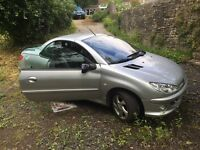 Peugeot 206cc 1.6L SWAPS OR OFFER