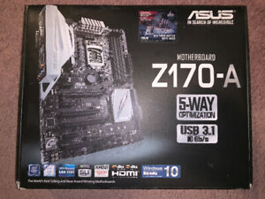 ASUS Z170 A Motherboard