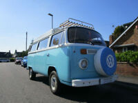 Volkswagen Devon Bay Window Camper Campervan Pop Top 4 Berth