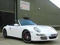 Porsche 911 3.8 Carrera 4 Tiptronic S Cabriolet 2d 3596cc auto
