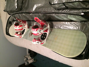Selling full snowboard set !!! cant beat this price