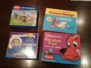 4 Phonics book sets