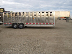 22,'24', and 30' Wilson Stock Trailers- Great Prices