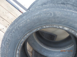 ford rims size 17 inch as well as 16 inch winter tires Cornwall Ontario image 2