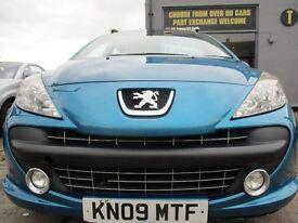 PEUGEOT 207 SW 1.6 HDI 90 SPORT SW 5dr (blue) 2009