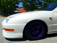 Enkei Rpf1 Rims and Tires, Powder Coated Candy Purple, 15x6.5