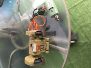 Electric Grinder & Drill